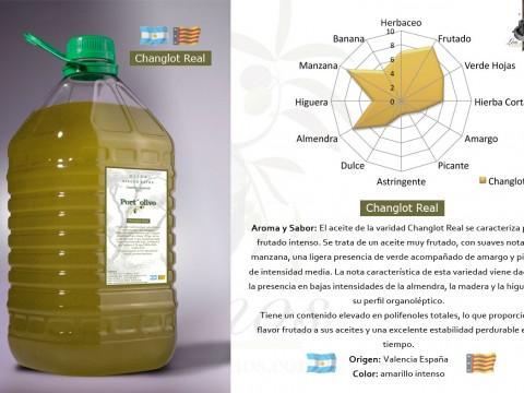 "Aceite de Oliva Virgen Extra ""Changlot Real"" Port Olivo"