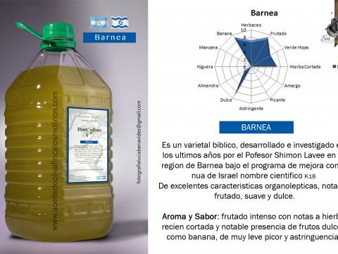 """Aceite de Oliva Virgen Extra """"Barnea"""" Port Olivo 0,15"""